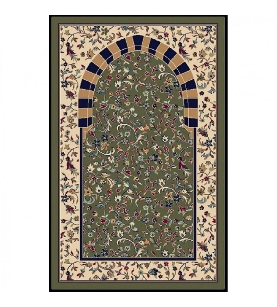 Коврик для намаза Alrawda (зеленый)